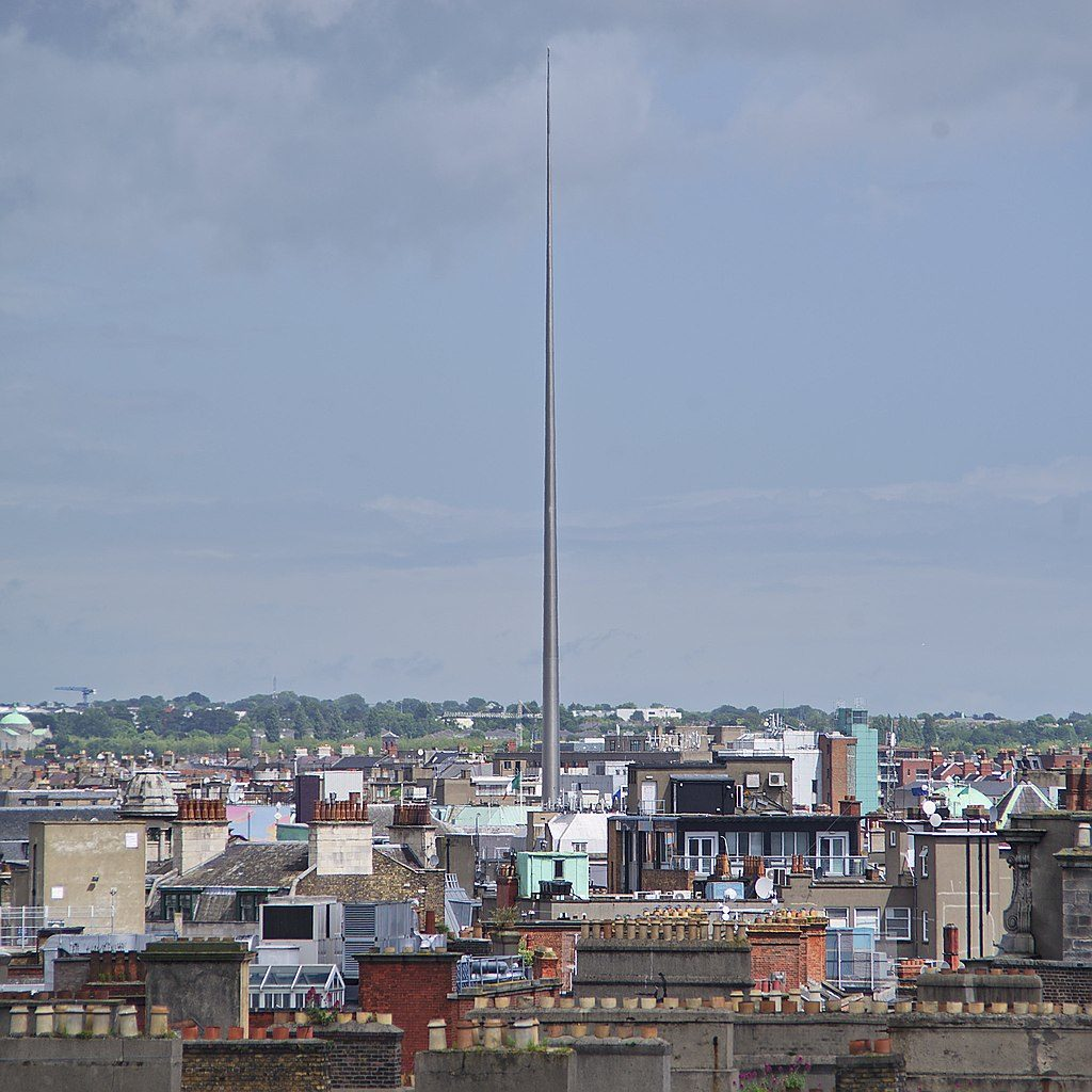 Spire de Dublin - Photo d'Andrew Mcmillan