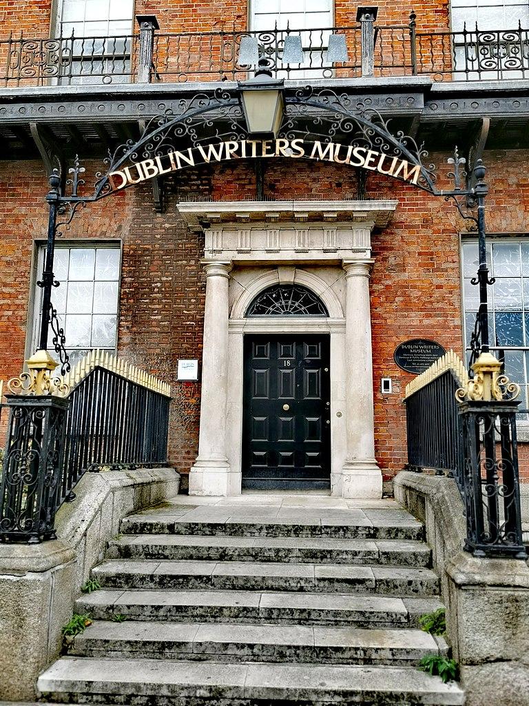 Entrée du Musée des écrivains de Dublin - Photo de Stipa Jennifer