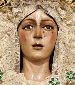 Basilique de la Macarena à Seville : Vierge vénérée