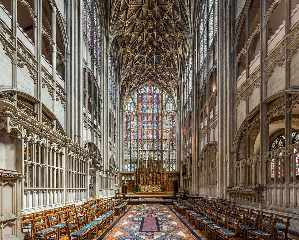 Lieux de tournage d'Harry Potter : Choeur de la cathédrale de Gloucester dans le Gloucestershire - Photo de Diliff