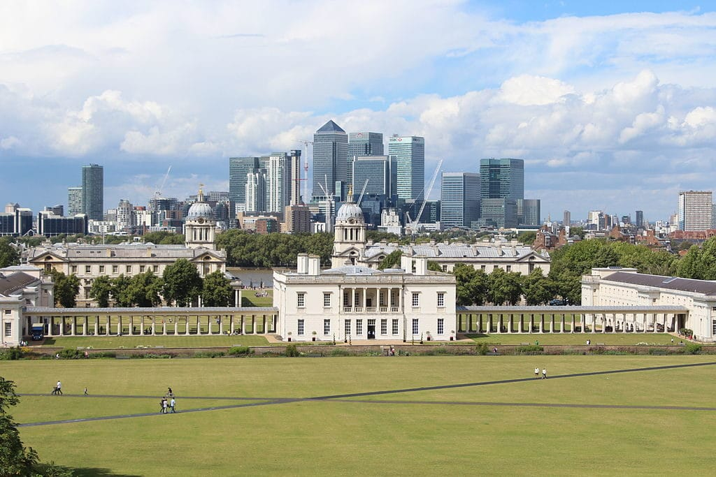 Vue depuis l'observatoire de Greenwich à Londres - Photo de Deror_avi