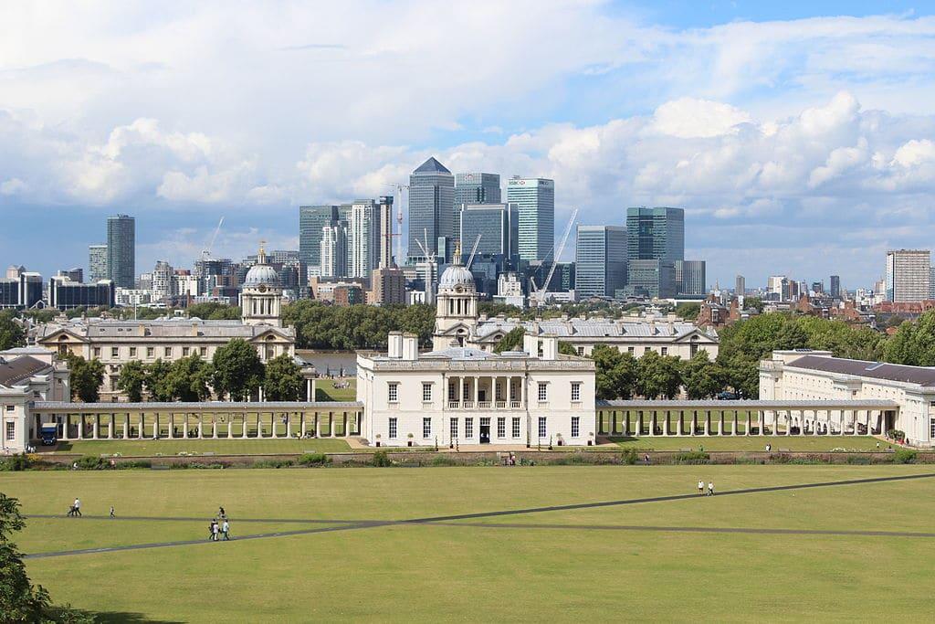 Observatoire de Greenwich à Londres et son méridien