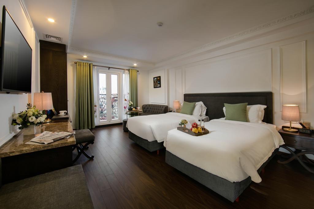 Hanoi Allure Hotel : Des chambres vraiment spacieuses et confortables.