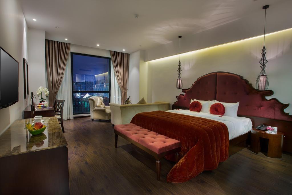 Chambre charmante du Hanoi Marvellous Hotel & Spa.