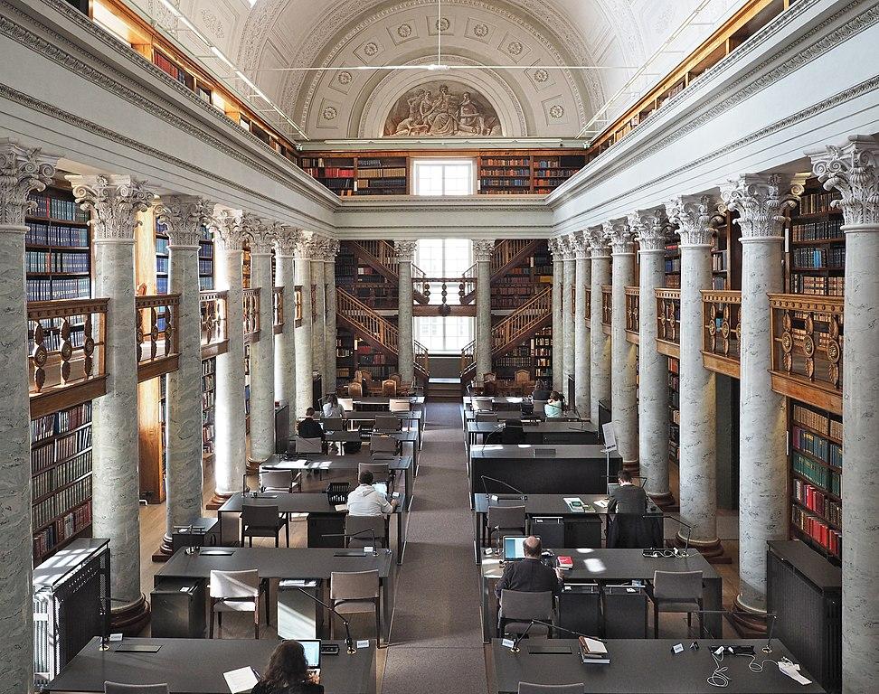 Bibliotheque de l'Université d'Helsinki - Photo de Marit Henriksson