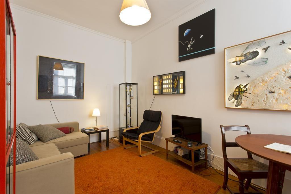 Un des espaces communs de l'Hostel Alegria à Porto.