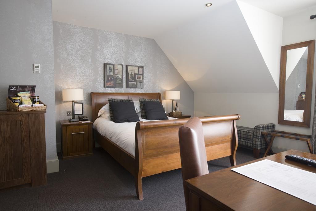 Charmante chambre de l'Hotel Du Vin Edinburgh à Edimbourg.