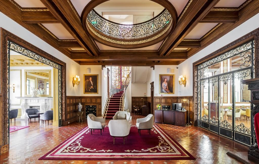 A l'intérieur de l'Infante Sagres – Luxury Historic Hotel, hôtel de charme à Porto.