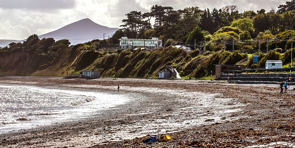 Plage de Killiney Beach au sud de Dublin - Photo de William Murphy