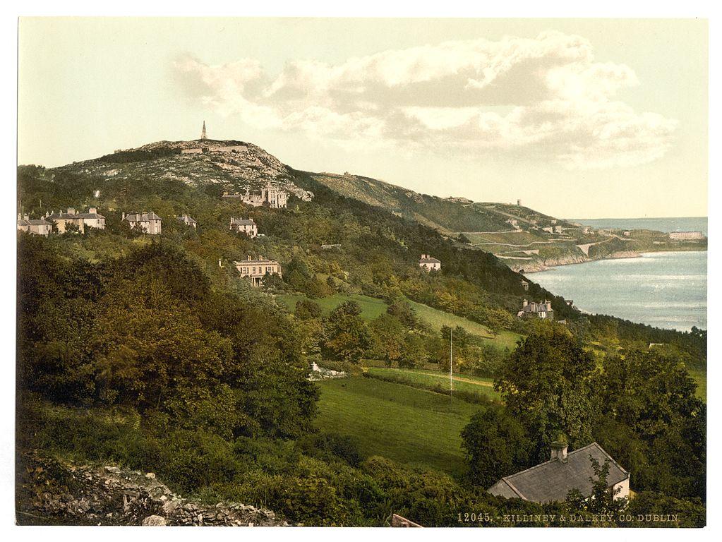Dans le Killiney & Dalkey County, près de Dublin en 1900.