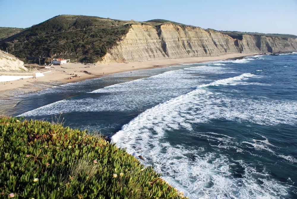 Plage Praia do Magoito près de Sintra