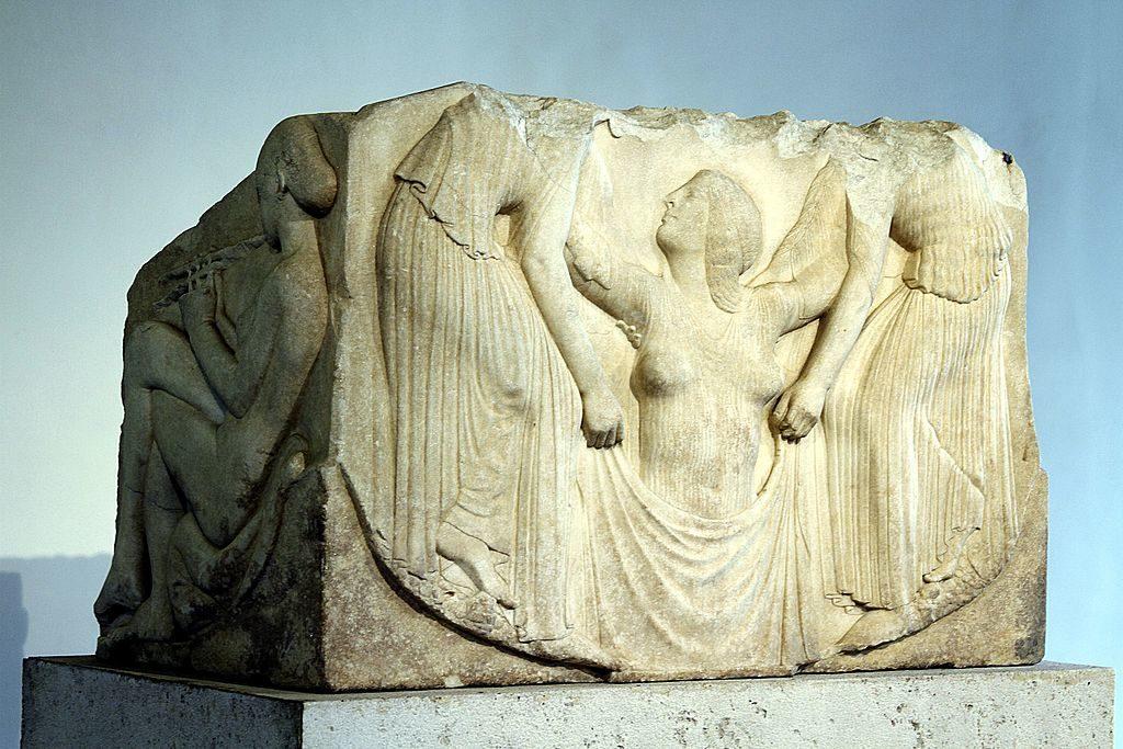 Musée National Romain : Trone Ludovisi à Rome - Photo © José Luiz Bernardes Ribeiro : CC BY-SA 4.0