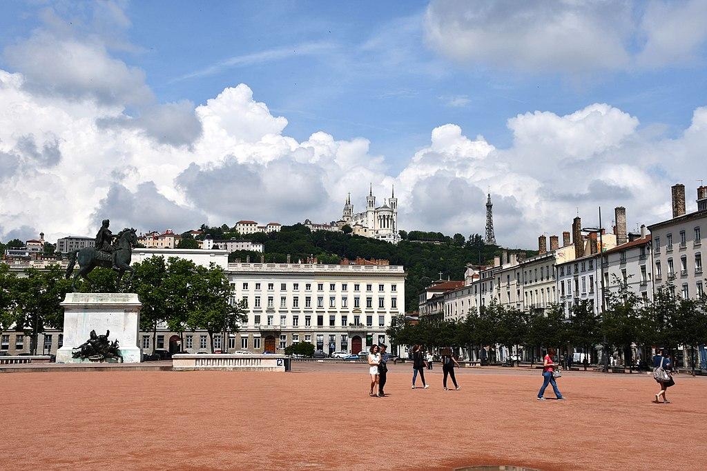 Presqu'île de Lyon : Dans le centre ville bourgeois et élégant
