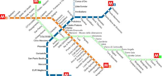 Transport en commun à Rome : Metro, bus, tramway et tarifs ⋆ Vanupied