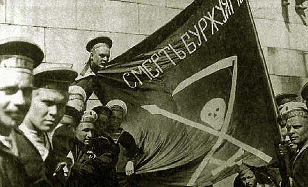 Marin de Kronstadt reclamant le droit d'être entendu par les dirigeants communistes.