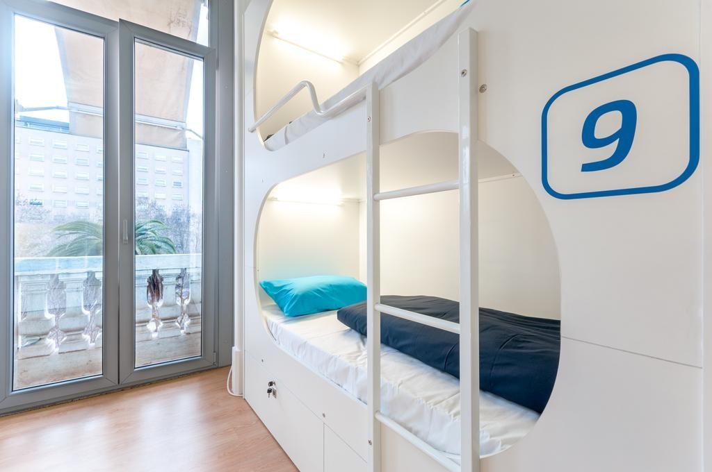 Auberge de jeunesse NLC Hostel à Lisbonne : Ambiance capsule moderne.