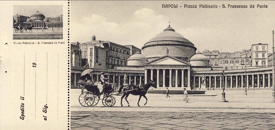 Basilique S.Francesco di Paola : Panthéon à Naples [S. Ferdinando]