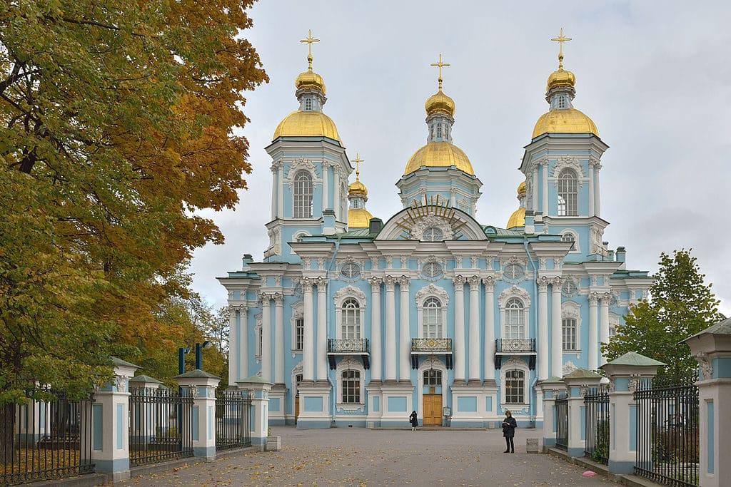 Cathédrale Saint-Nicolas des Marins à Saint Petersburg - Photo de Wolfgang Moroder.