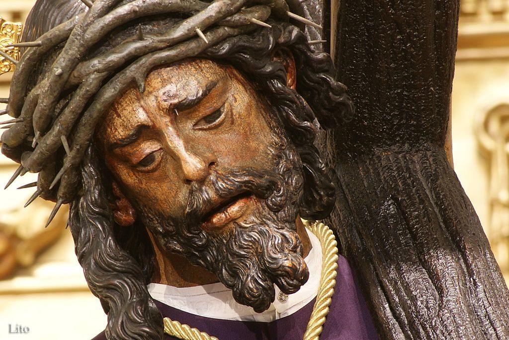 Sculpture de Nuestro Padre Jesús del Gran Poder à Séville - Photo de Mflito