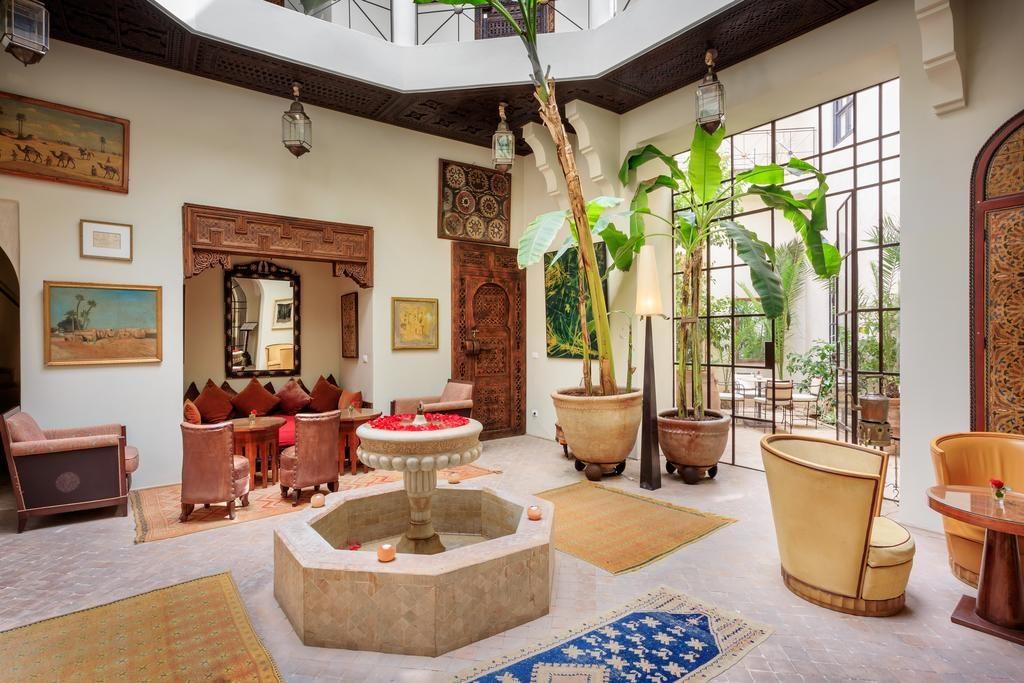 Hotel de charme à Marrakech : A l'intérieur du Palais Khum.