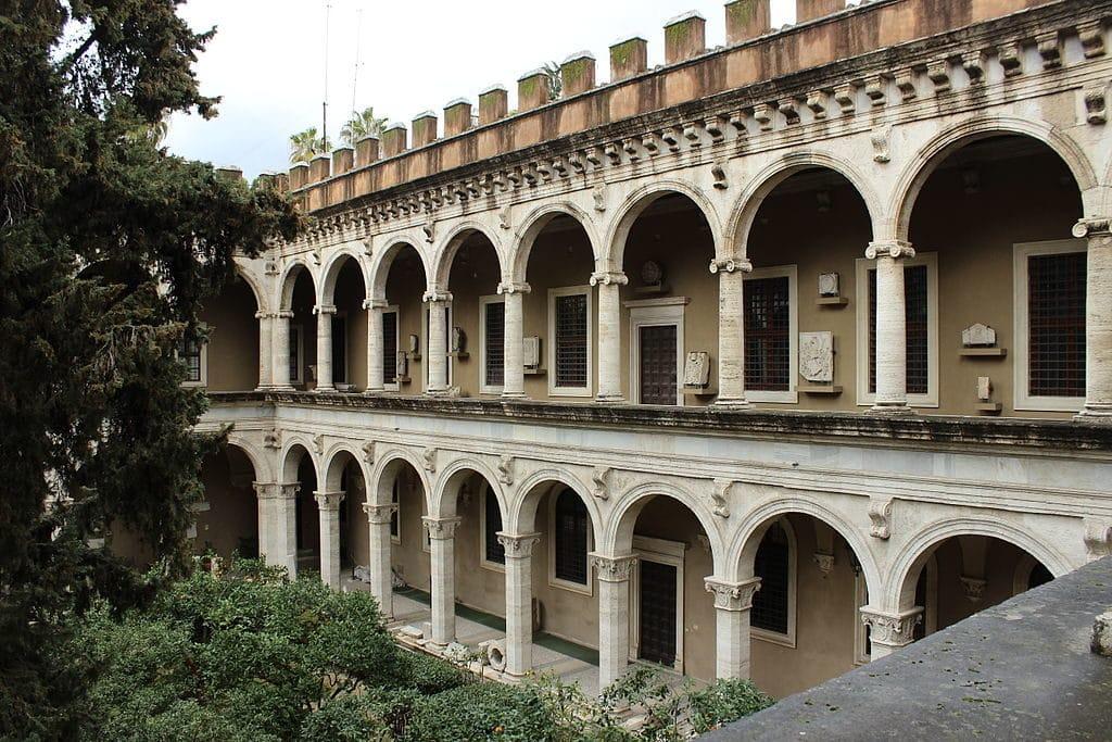 Intérieur du Palazzo Venezia à Rome - Photo Miguel Hermoso Cuesta