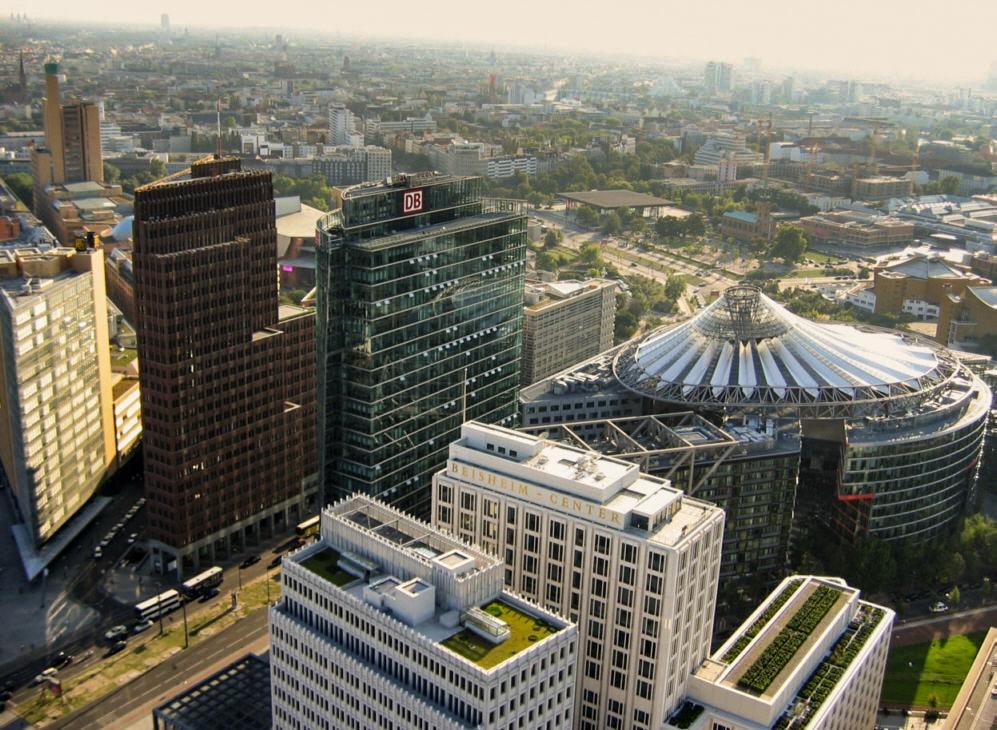 Potsdamer Platz à Berlin, symbole de la renaissance [Tiergarten]