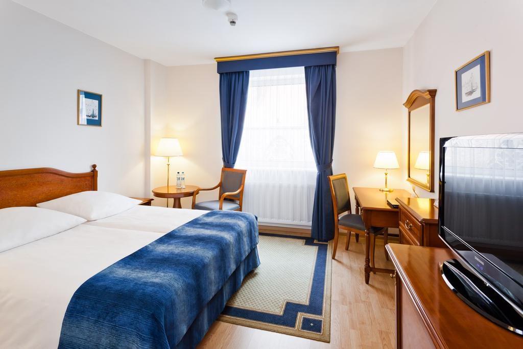 Qubus Hotel Wrocław dans un style plus classique.