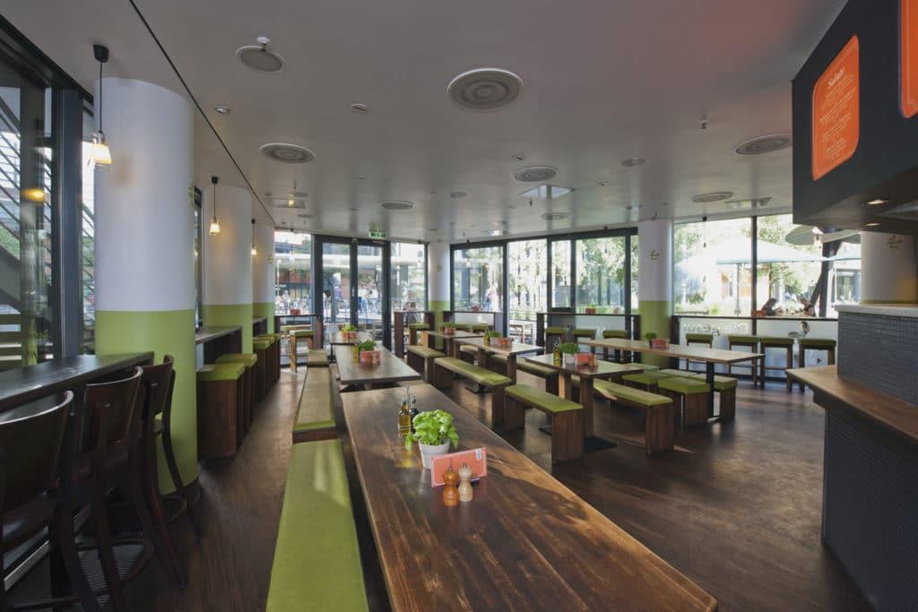 Weilands Wellfood à Berlin, diététique sur la Potsdamer platz [Tiergarten]