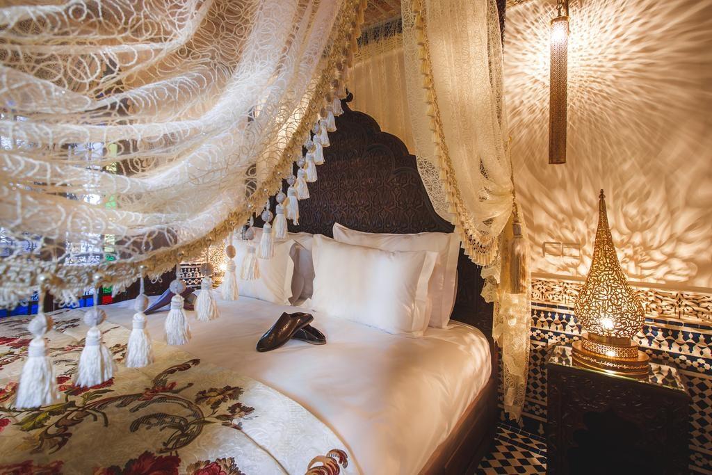 Hotel de charme à Fès : Dans une suite du Riad Mayfez suites & spa.