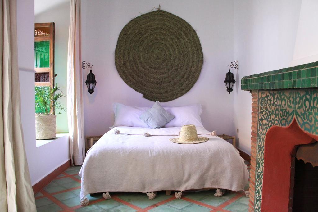 Chambre cosy du Riad Malida à Marrakech.