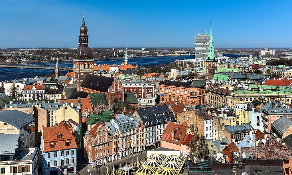 Vue sur la vieille ville de Riga - Photo de Jorge Franganillo