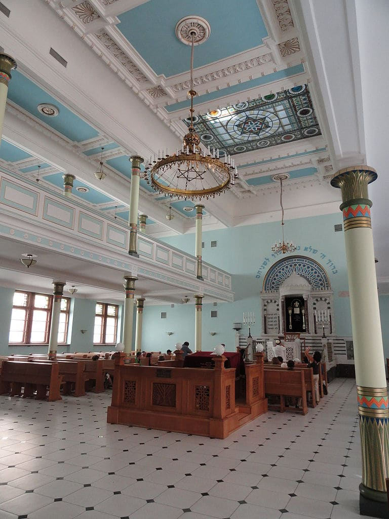 A l'intérieur de la synagogue dans le Vieux Riga - Photo de FLLL