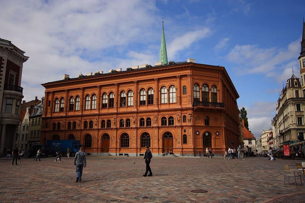 Musée d'art étranger de la Bourse de Riga. Photo de Lvova Anastasiya
