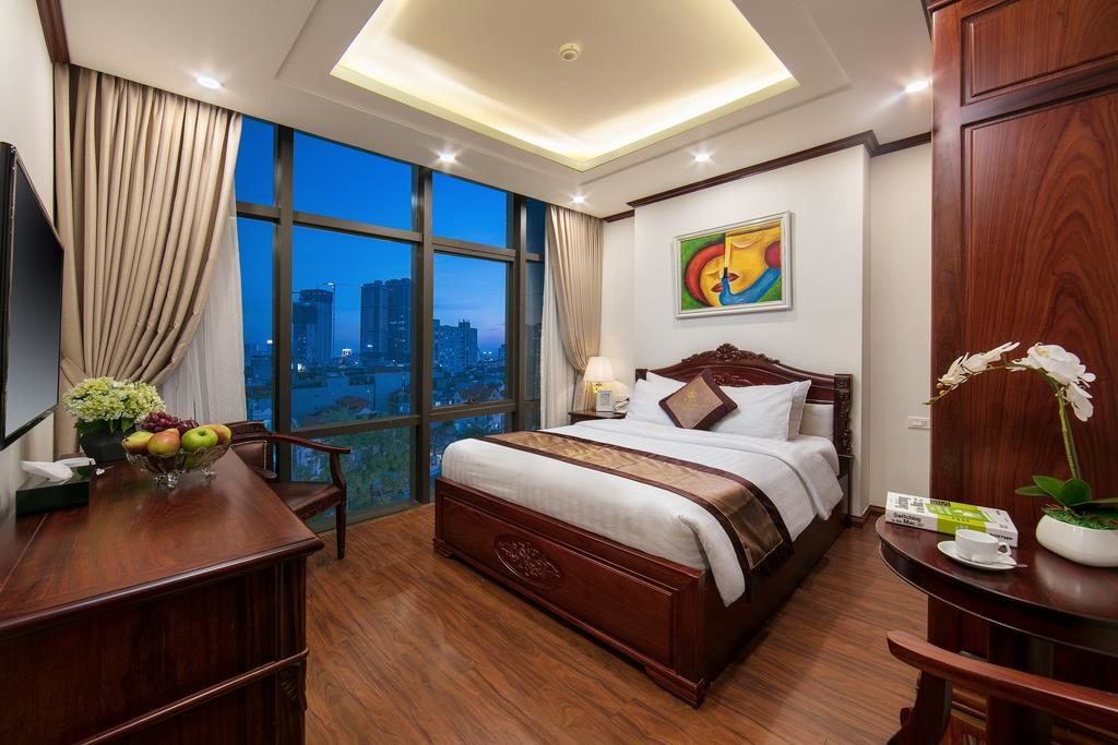 Dans le Royal St Hanoi Hotel.