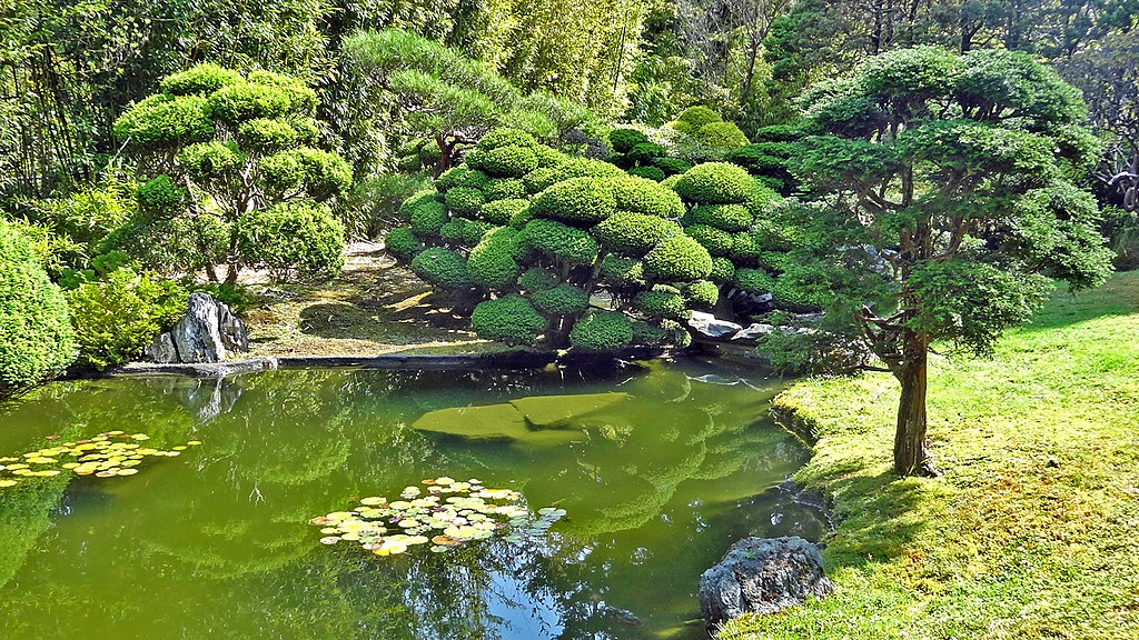 Japanese Tea Garden au Golden Gate Park de San Francisco - Photo de Dennis Jarvis