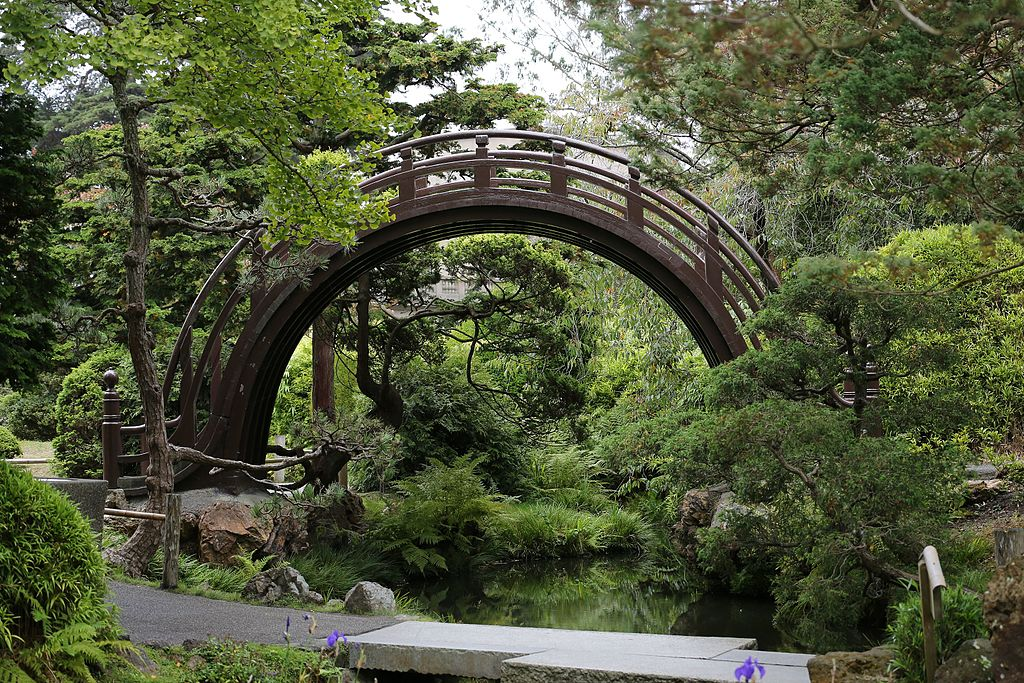 Moon bridge du Japanese Tea Garden au Golden Gate Park de San Francisco - Photo de Tobias Kleinlercher