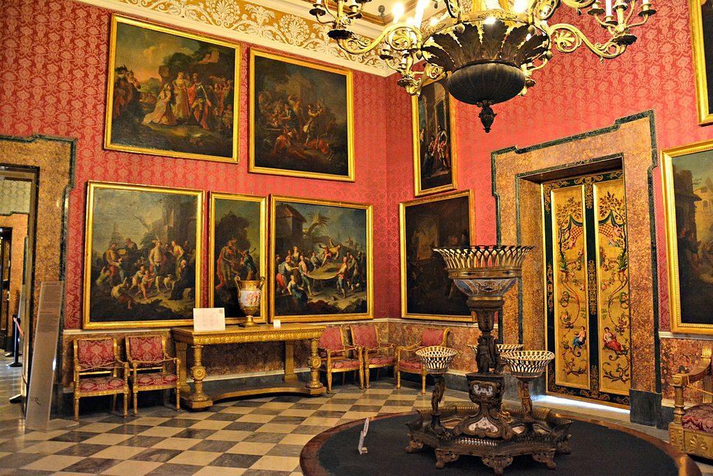 Palais Royal de Naples : Salle XXIV (Palazzo Reale di Napoli) - Photo de Mentnafunangann