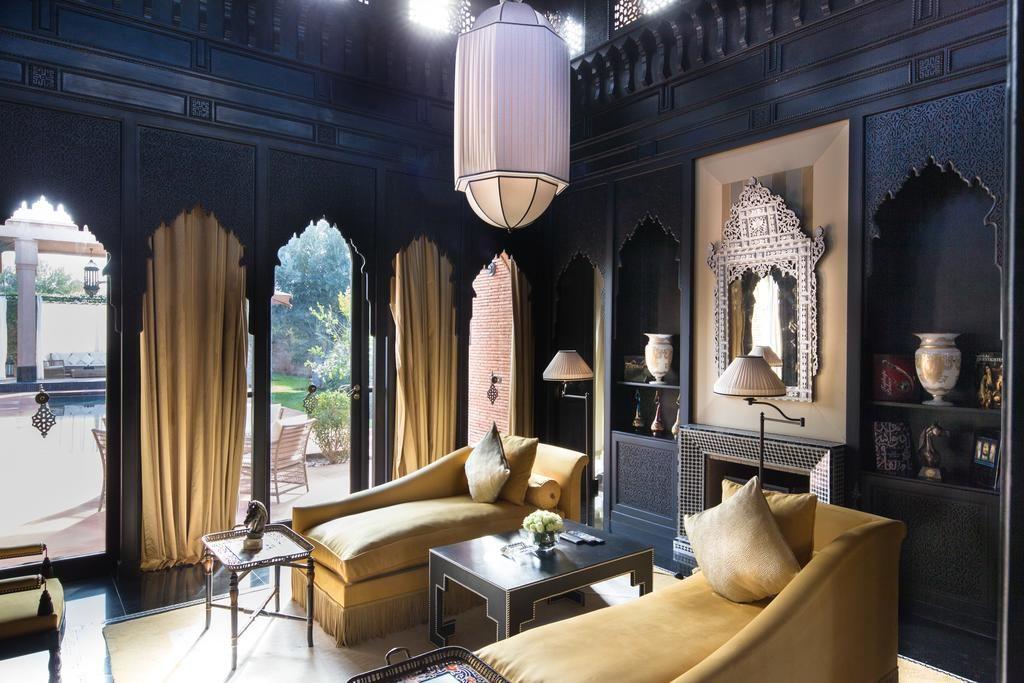Dans l'un des hotels de luxe les plus somptueux de dehors de Marrakech : Le Selman Marrakech.