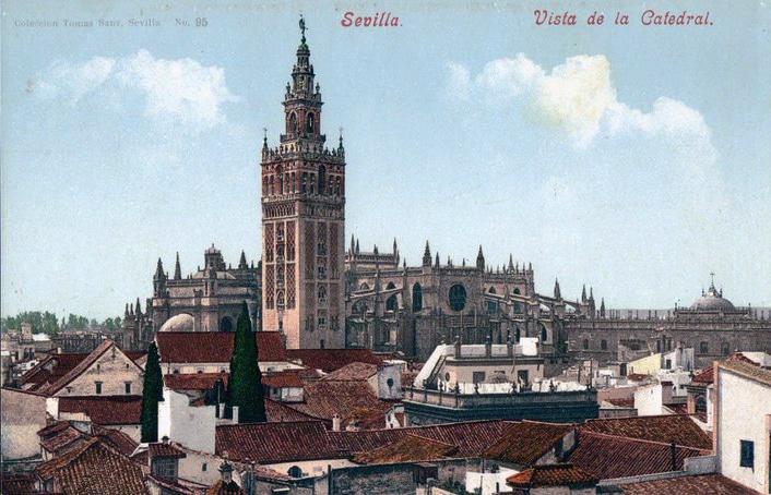Giralda à Séville, l'ancien minaret devenu symbole de la ville