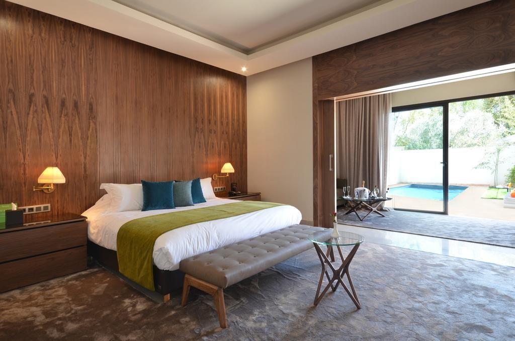 Belle chambre élégante et spacieuse du Sirayane Boutique Hotel & Spa à Marrakech.