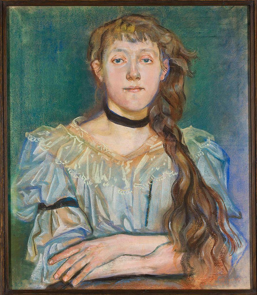 Portrait de Maria Waśkowska de Stanisław Wyspiański (1894).