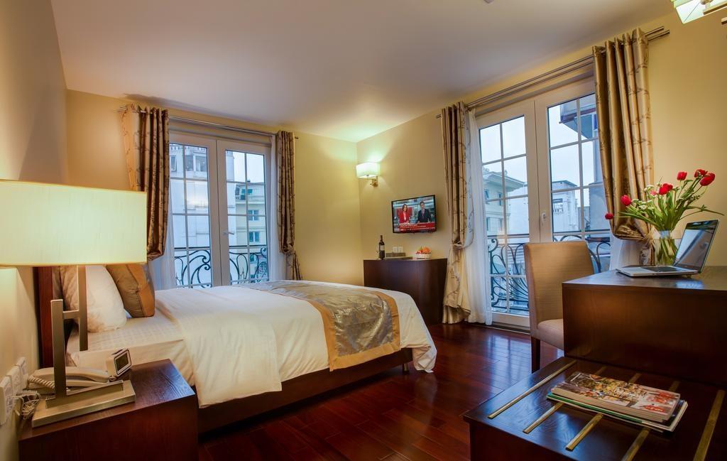 Chambre au Sunline Hotel à Hanoi.