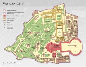 Vatican, le Saint Siège à Rome : Etat de l'église catholique
