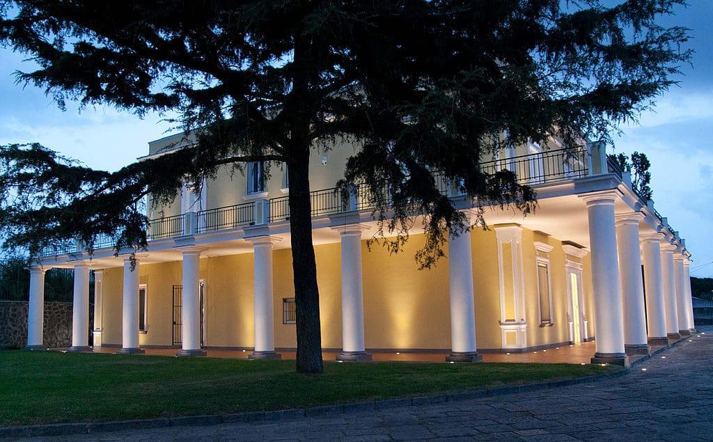 Villavésuvienne : Villa delle Ginestre à Torre del Greco près de Naples - Photo de Sergioizzo