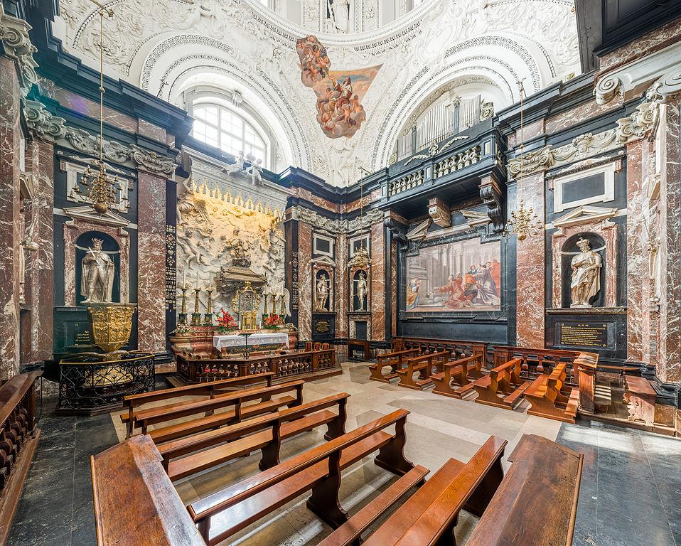 Chapelle St Casimir dans le cathédrale de Vilnius - Photo de Diliff