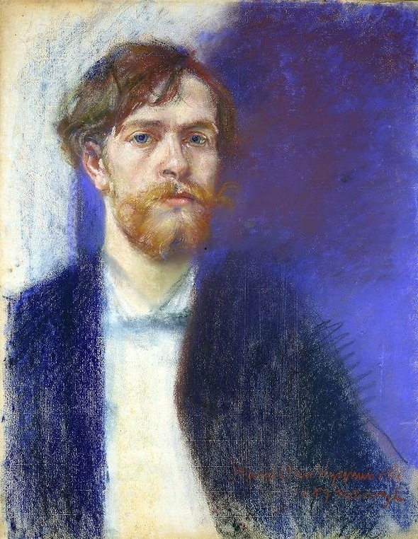 Auto-portrait de Wyspianski en 1894.