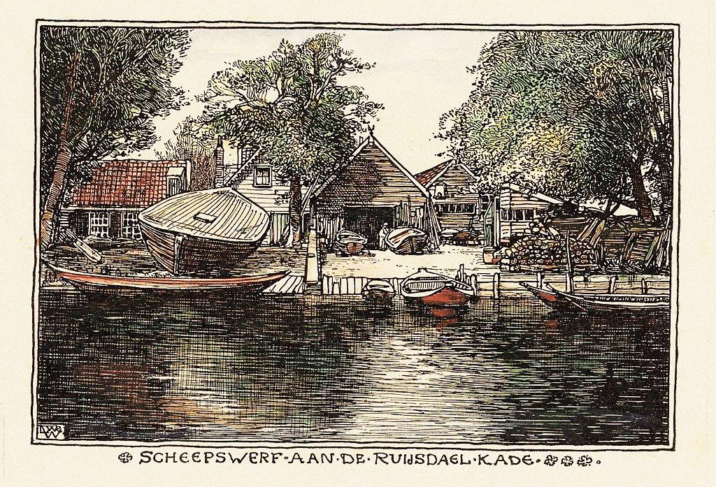 > Art nouveau : Amsterdam en 1900 vu par Willem Wenckebach