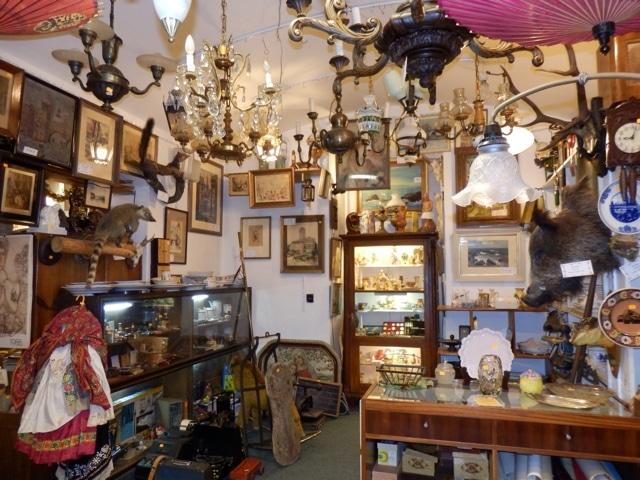 Bazar P&J, brocante de Prague [nouvelle ville]