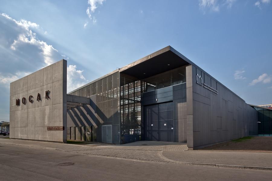 Mocak mus e d 39 art contemporain de cracovie podgorze for Architecte italien contemporain