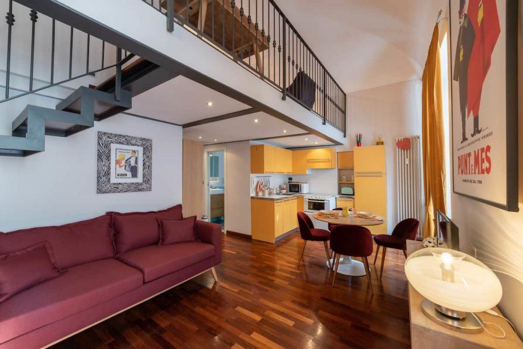 Airbnb à Turin : Bel appartement en location dans le centre.